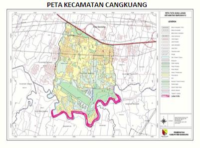 Kecamatan Cangkuang: Wilayah Kecamatan Cangkuang