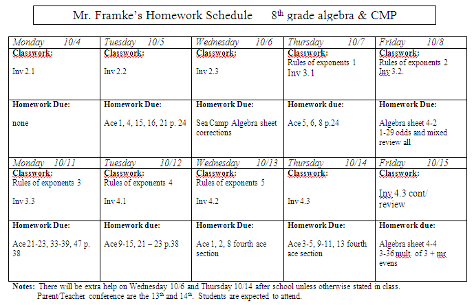 Homework help science grade 8