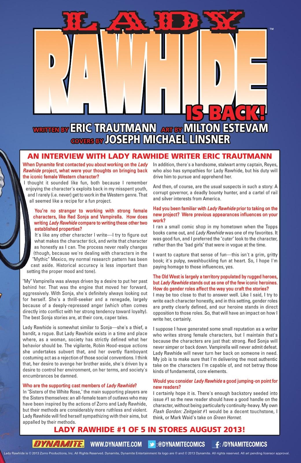 Read online Vampirella Strikes comic -  Issue #6 - 36