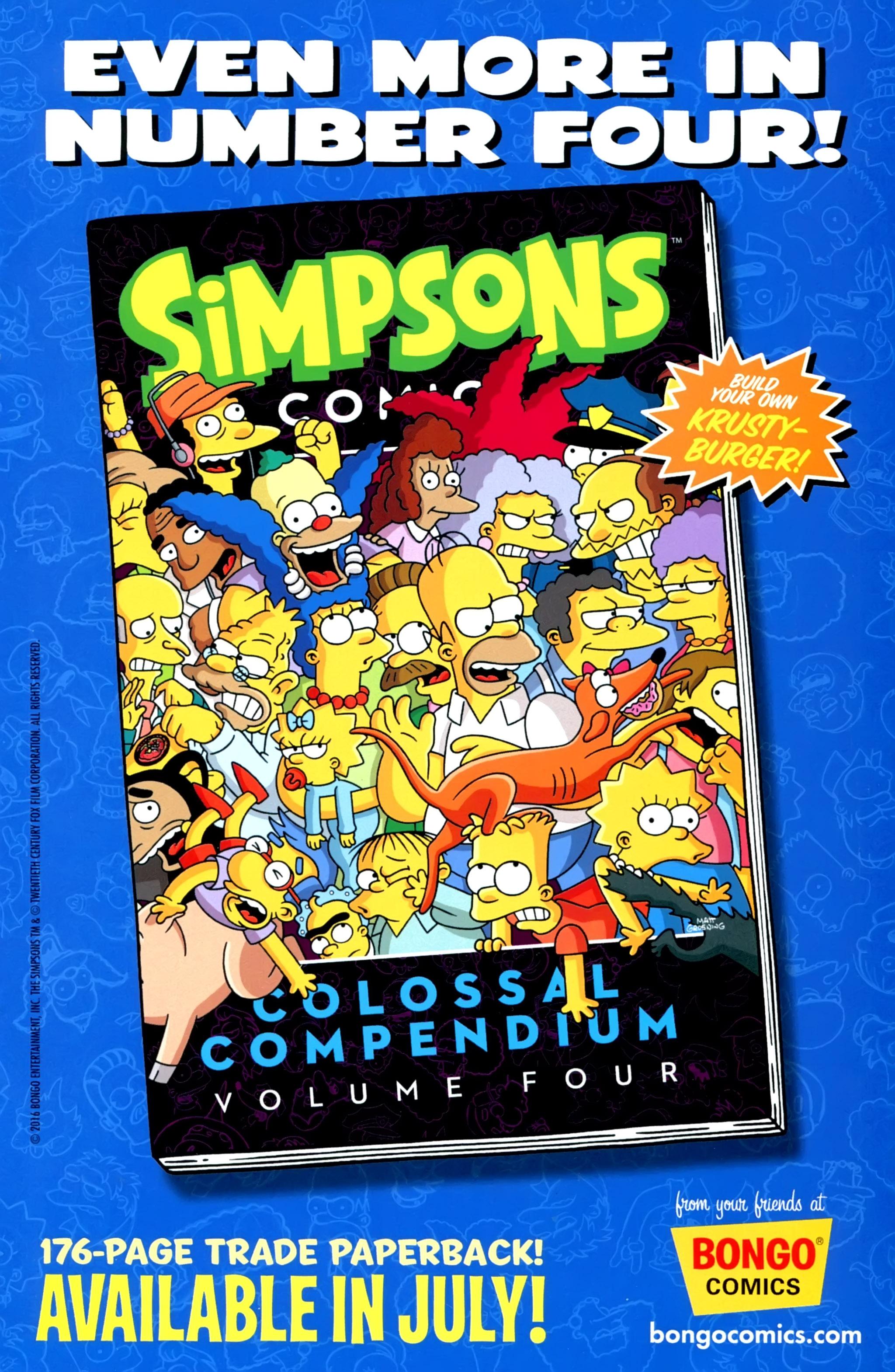 Read online Simpsons Comics comic -  Issue #229 - 31