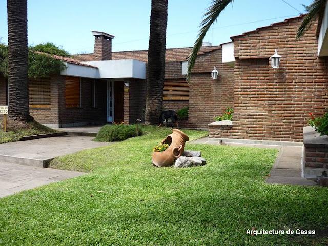 Arquitectura de Casas: Los exteriores de las viviendas.