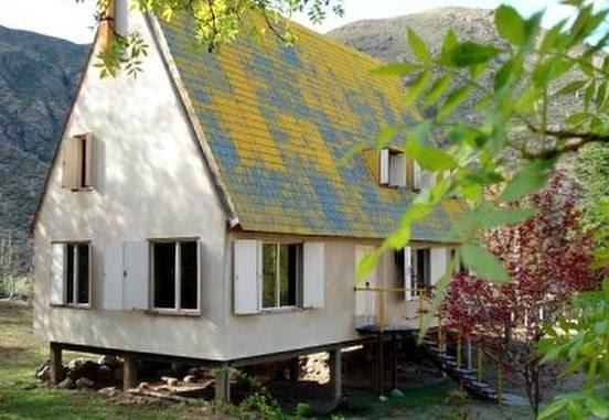 Arquitectura de casas una casa de madera en la monta a for Casa en la montana
