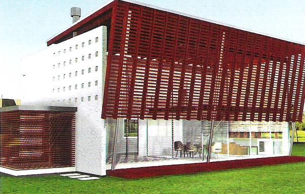Imagen de un proyecto de casa residencial contemporánea en Buenos Aires