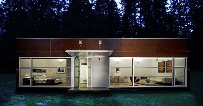 Arquitectura de casas casa prefabricada modular ecol gica - Casa ecologica prefabricada ...