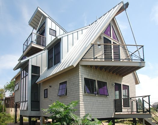 Casa de playa Posmoderna