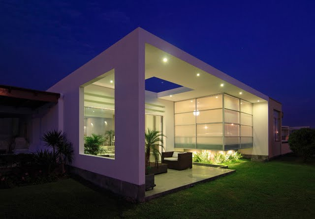 Casa de playa - noche