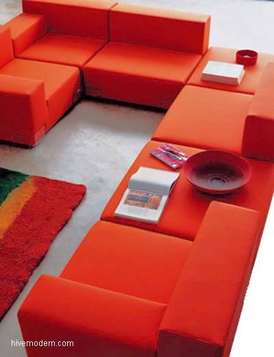 Módulos sofás de diseño