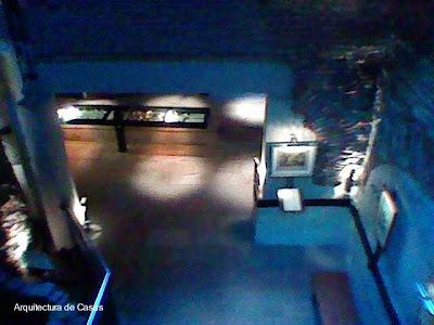 Subsuelo dispuesto como museo en Los Patios casa del complejo El Zanjón