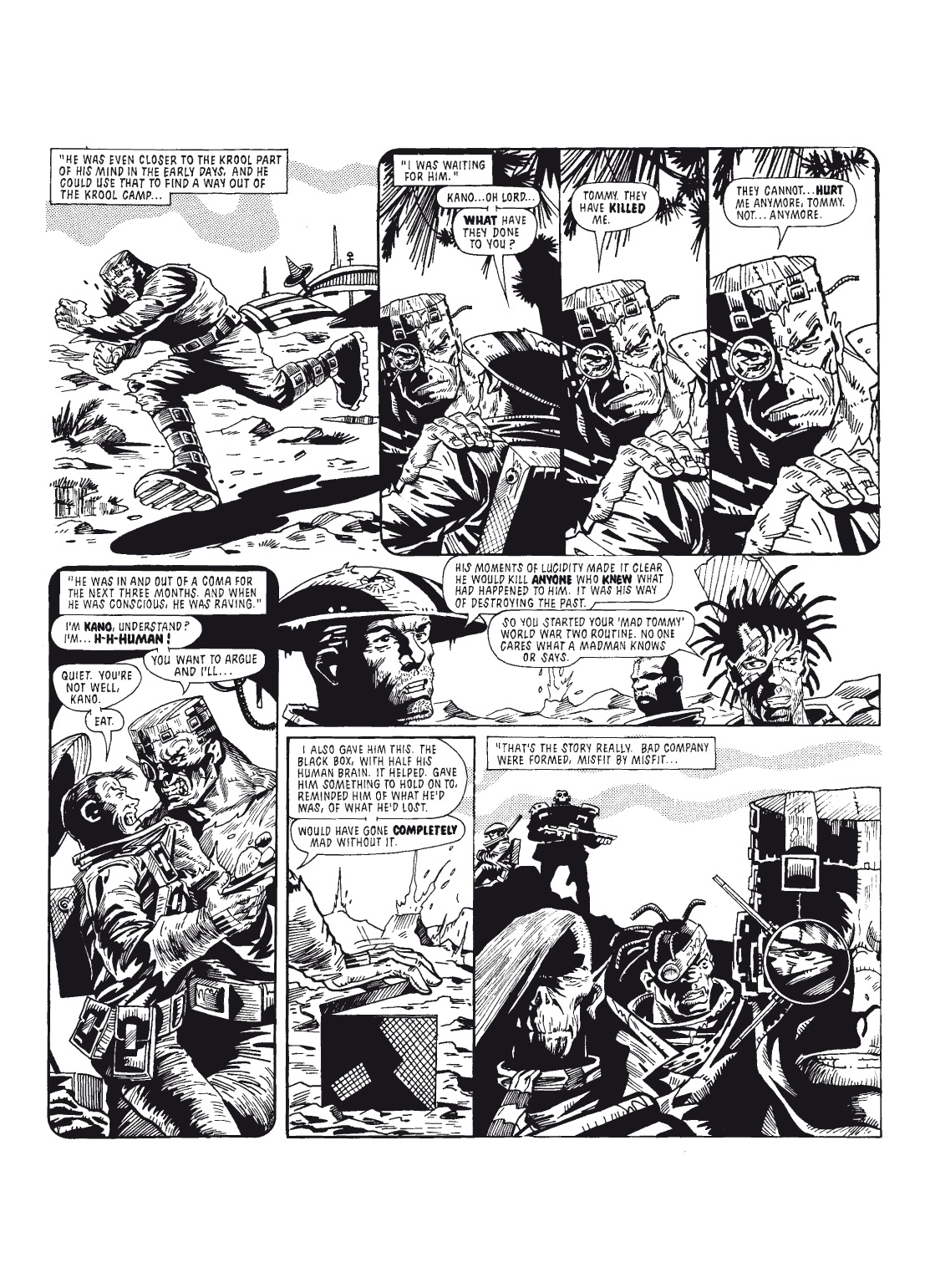 Read online The Complete Bad Company comic -  Issue # TPB - 120