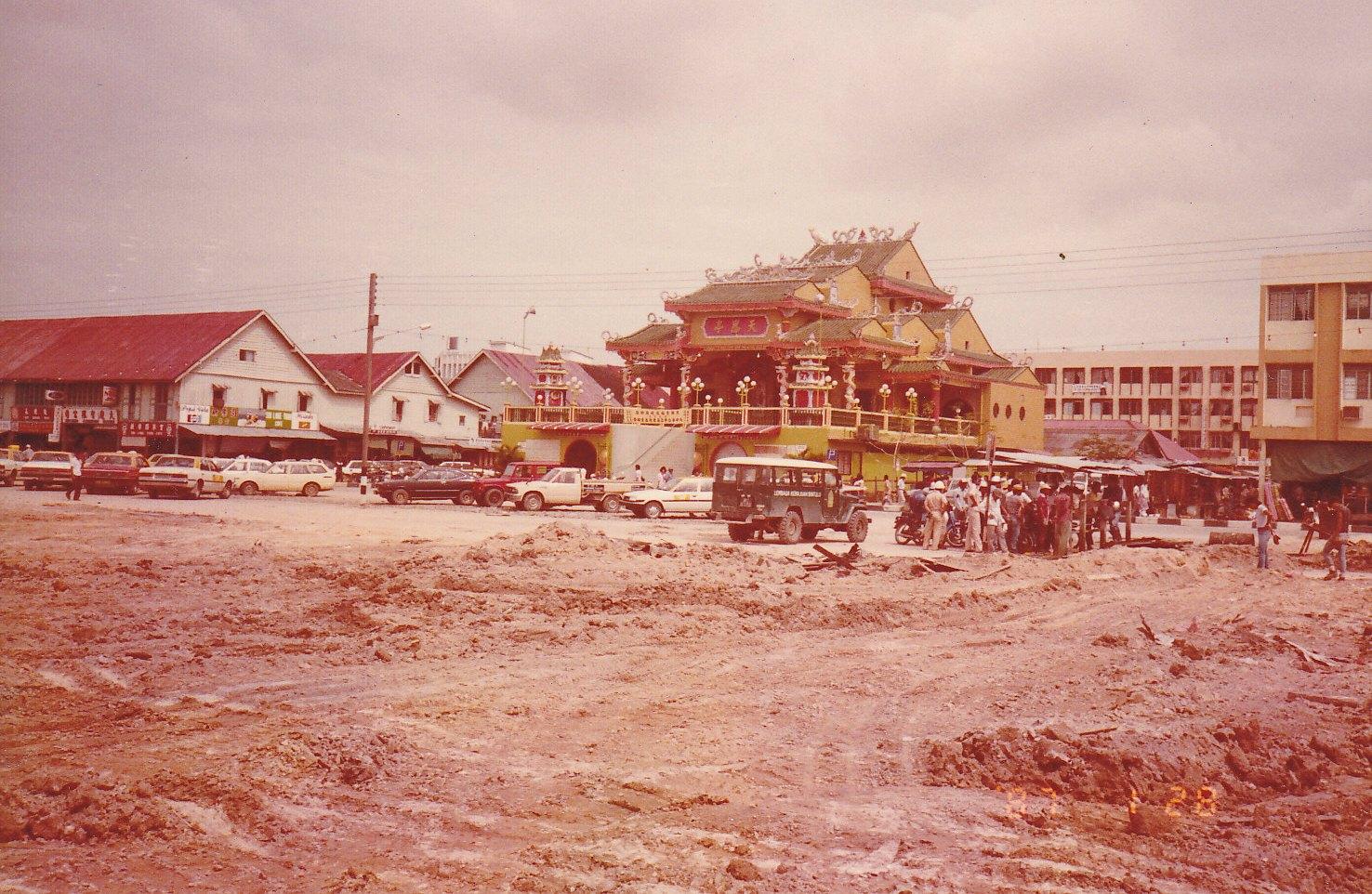 Images Of Bintulu Before And Now Bintulu Town Riverside
