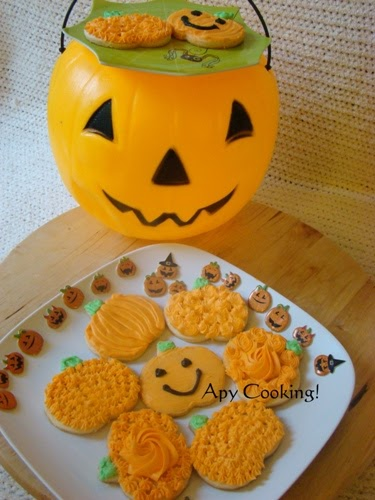 Apy Cooking Sugar Cookies  for Halloween