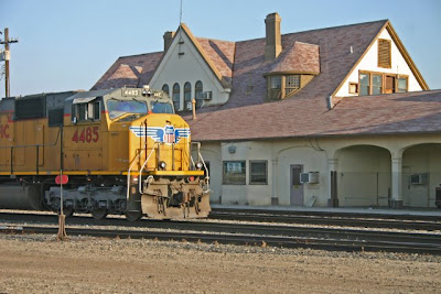 HISTORY SERIES: UP Train Conductor Wants to Save Bakersfield Depot