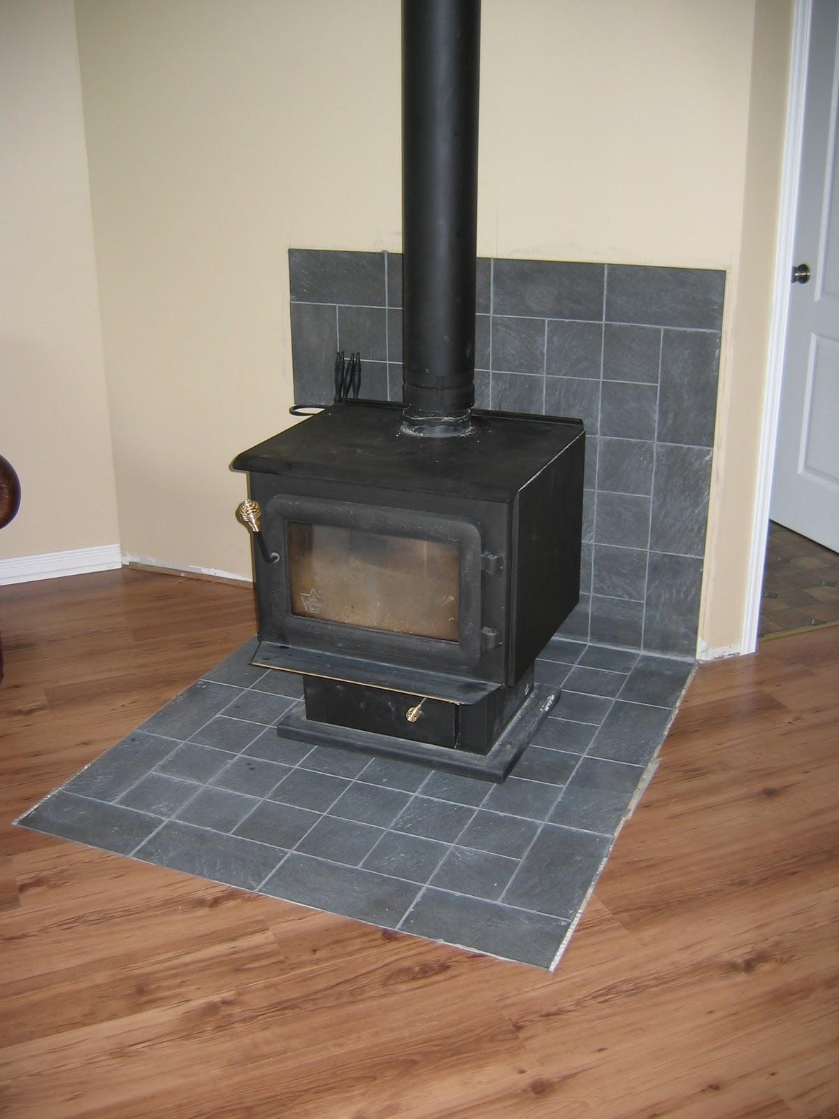 Floor Heat Floor Heat Shield For Wood Stove