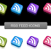 3D Effect and Reflection RSS Icons