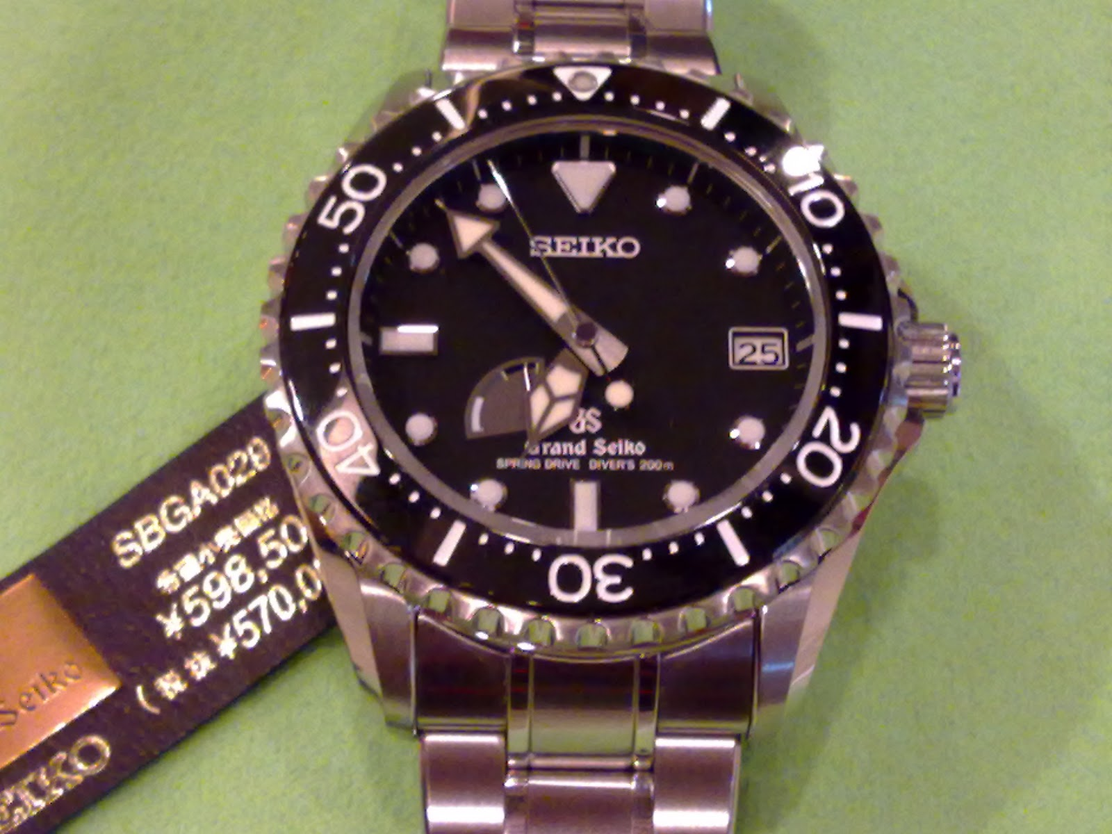 Hong kong watch fever the most expensive diver 39 s watch from seiko for Watches expensive