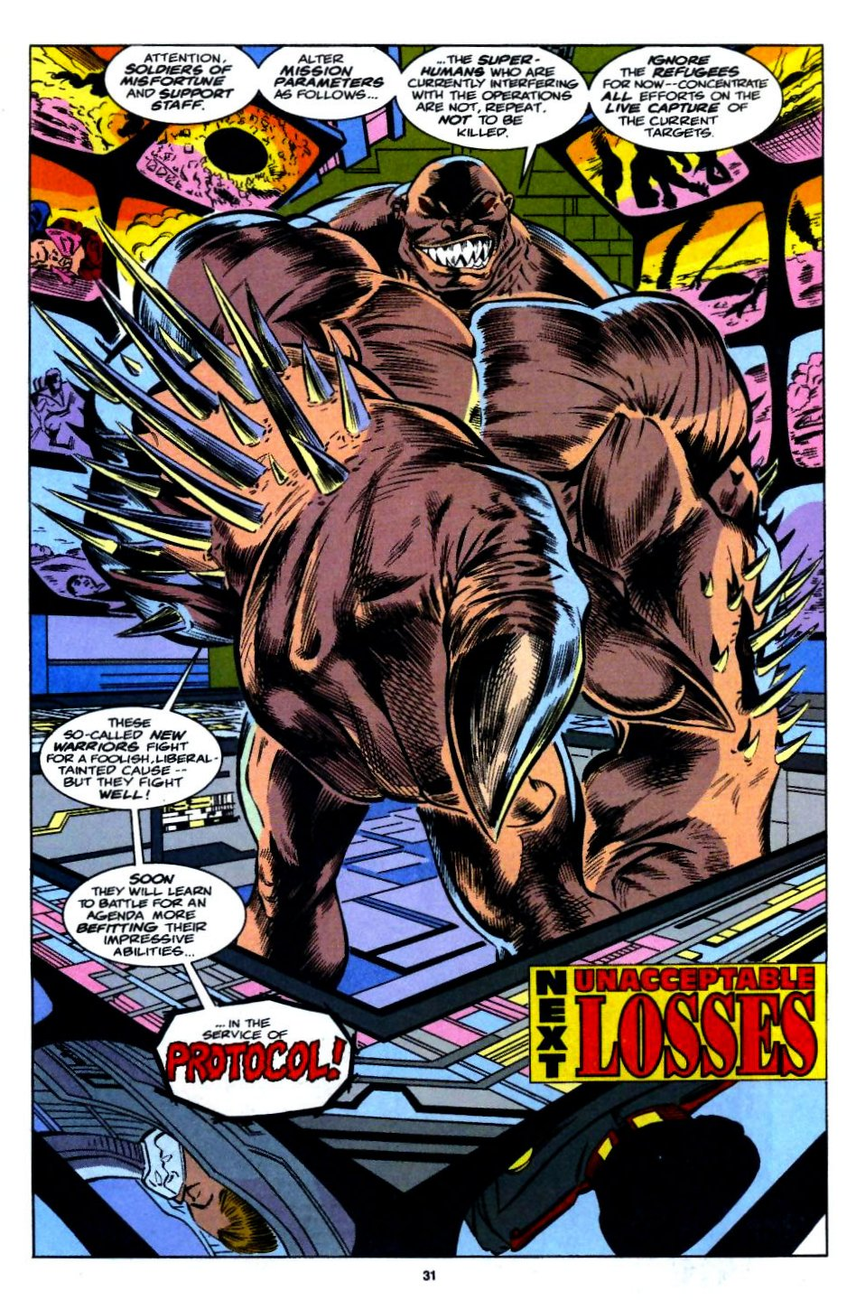 The New Warriors Issue #54 #58 - English 23