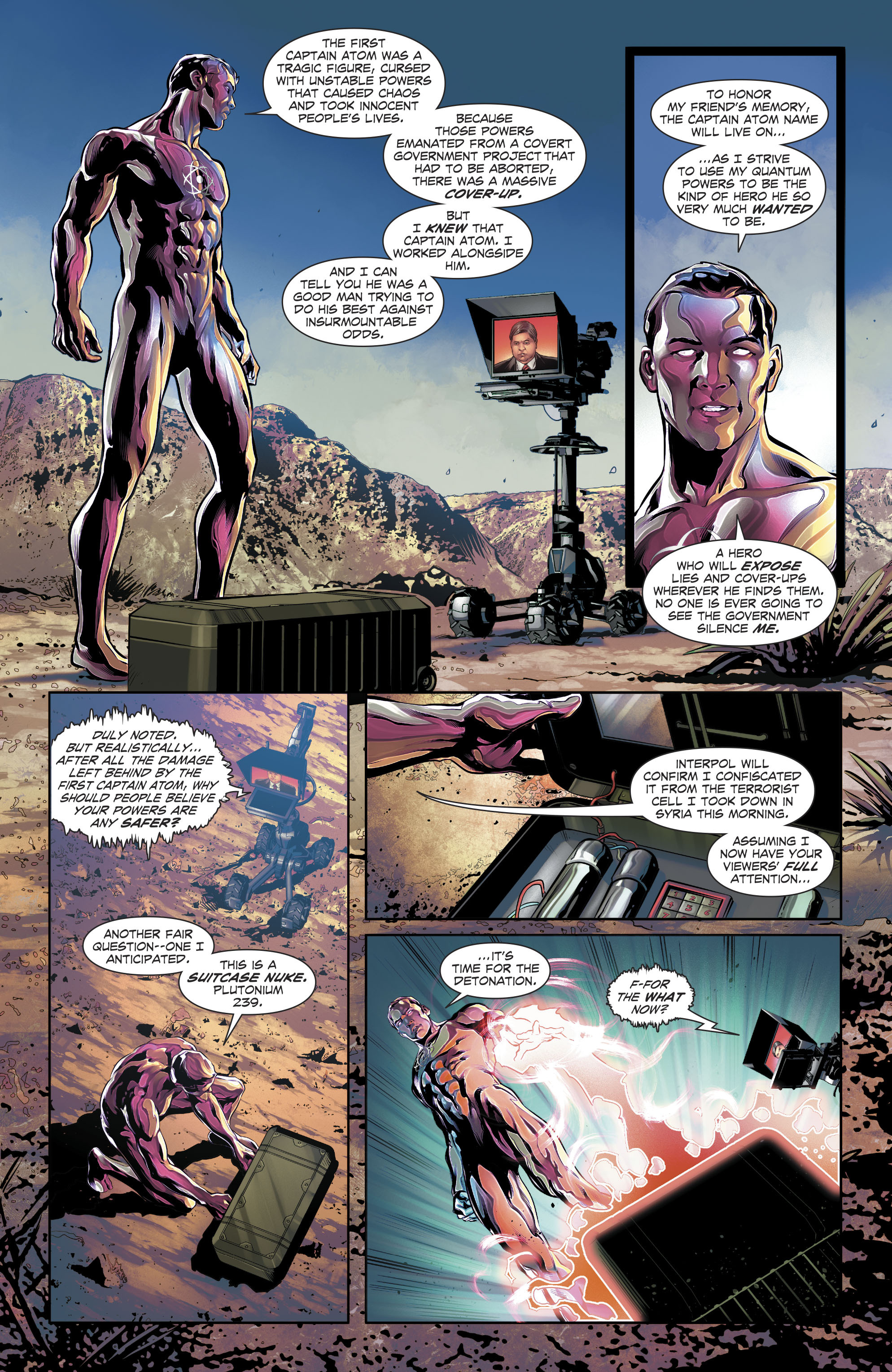 Read online The Fall and Rise of Captain Atom comic -  Issue #4 - 6