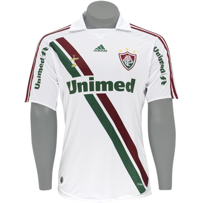 Leandro Vendas  Camisa II Fluminense - Adidas - 2009 48f544e64d1e4
