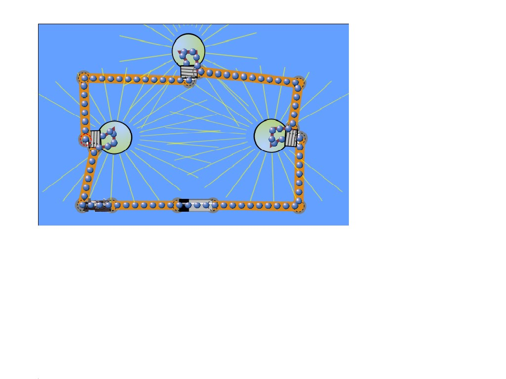Physics Phun Circuit With Light Bulb And Battery The Picture On Right Resembles A Typical Series It Involves Three Bulbs Switch In Current Is