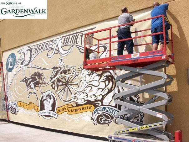 The Garden Walk Anaheim Ca: O.C. History Roundup: Murals Of Anaheim History At GardenWalk