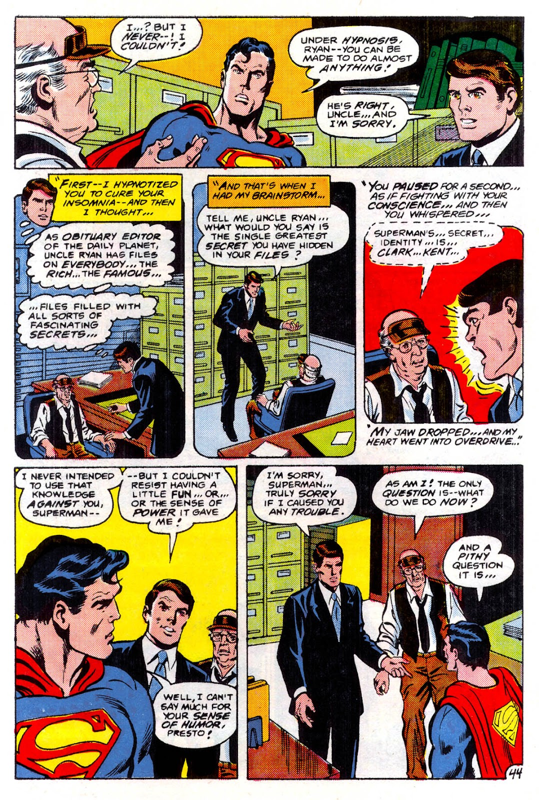 Read online Superman Special (1983) comic -  Issue #3 - 45