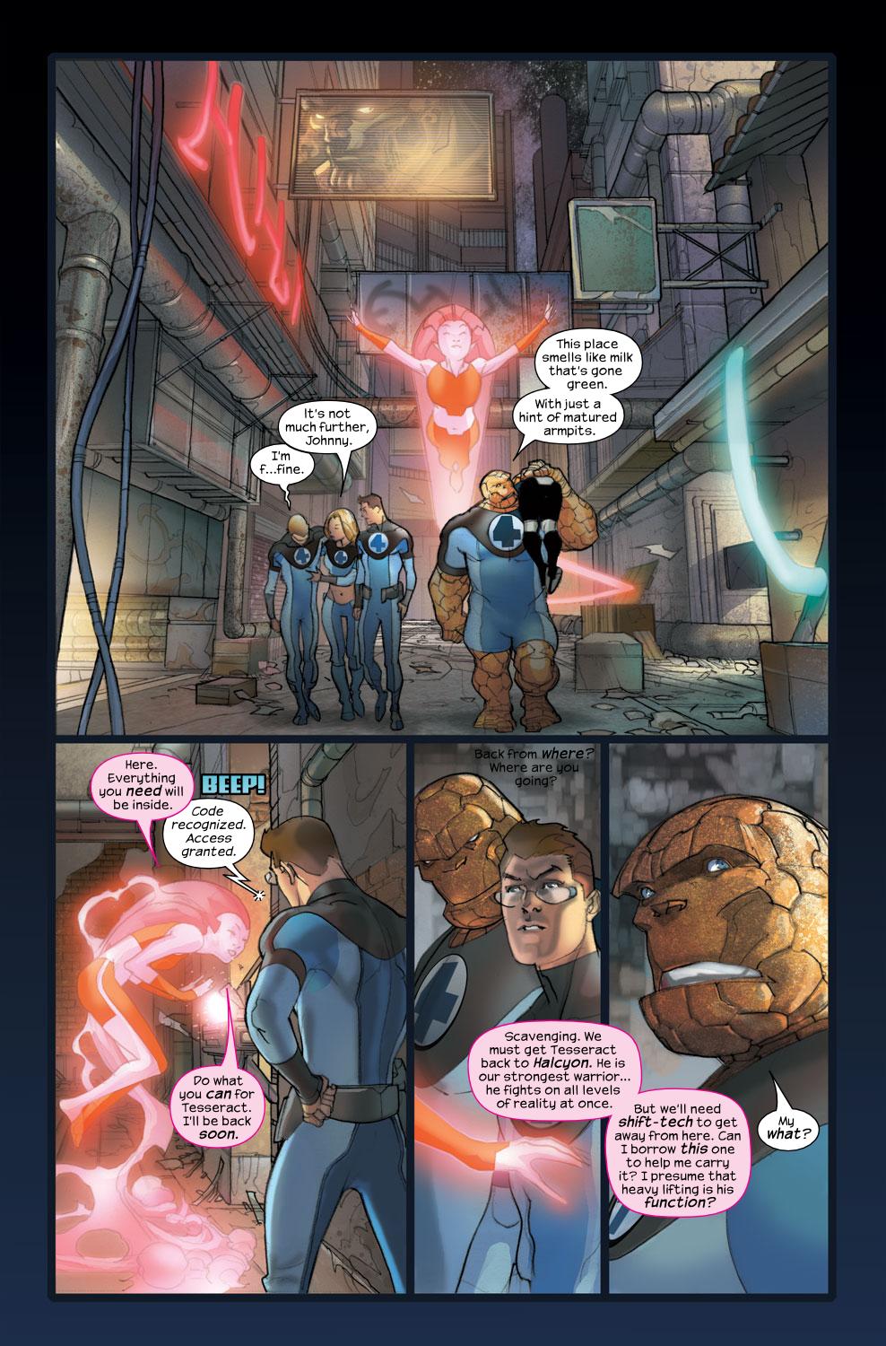 Read online Ultimate Fantastic Four (2004) comic -  Issue #36 - 10