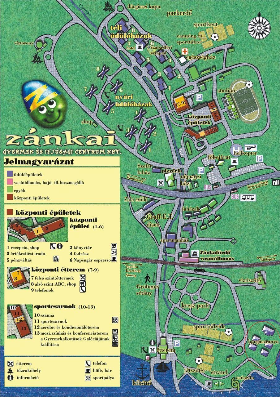zánka térkép Zánkai hemofíliás gyerektábor: Zánkai Gyermek és Ifjúsági Centrum  zánka térkép