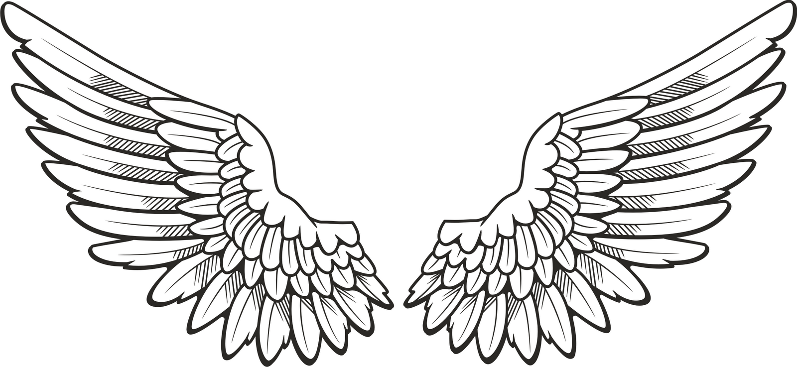 free angel wings with halo clip art - photo #25