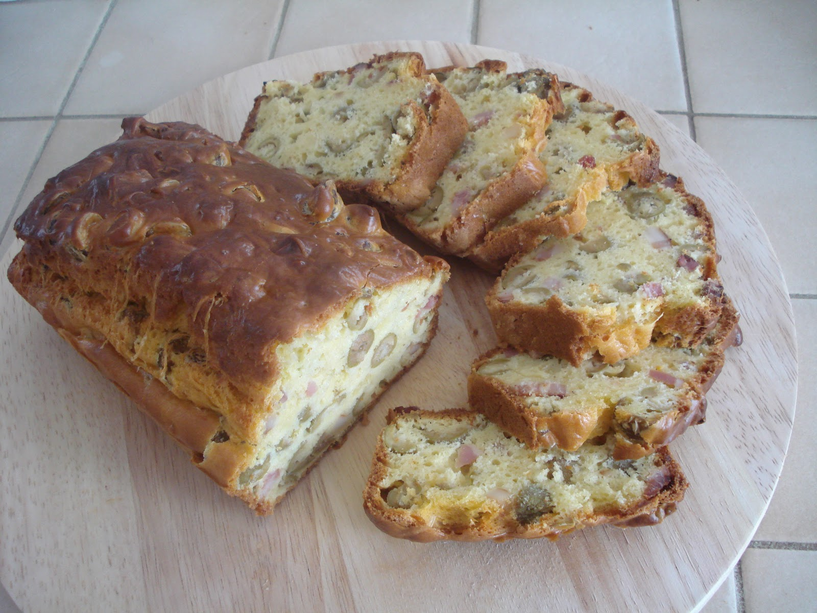 Cake Aux Lardons Olives Sans Oeufs