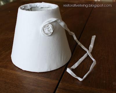 Rosette Lamp Redo Restorative Living