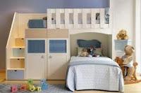 Mueble infantil cama litera para niños