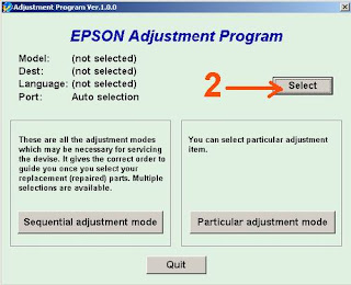 Atasi Printer Epson T13 Blinking dengan Resetter Software