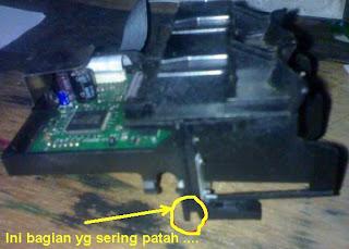 Cara Service Printer HP Deskjet Narik Kertas Terus (lenkap dengan gambar)