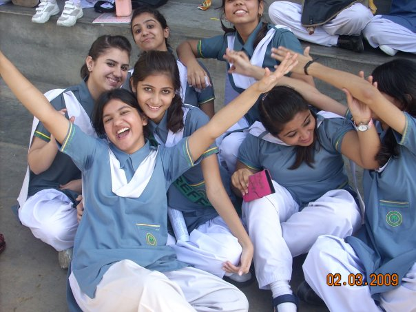 New Desi Photos Defence College Girls Farewall Party-4424