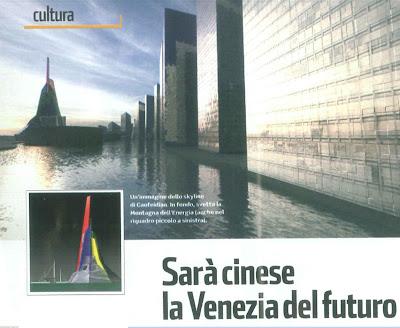 Sarà cinese la Venezia del futuro