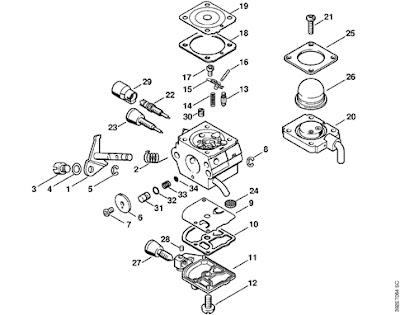 4137 120 0611 1 Carburetor C1qs80 34