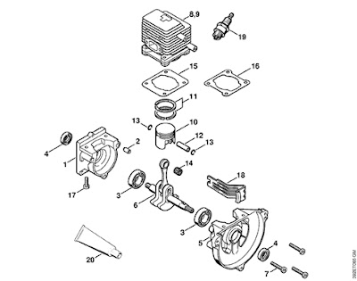 Stihl Hedge Trimmer Spare Parts List Repair Manual