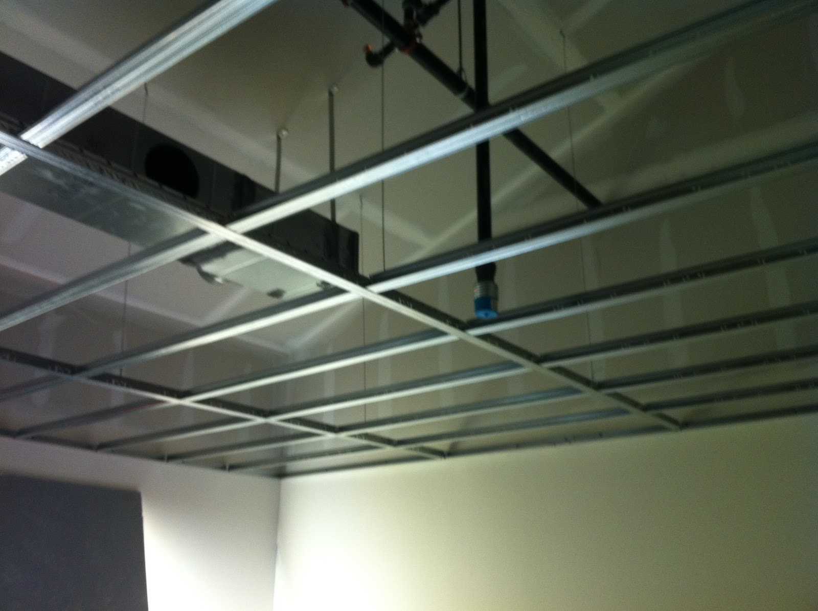 Charlestown LDS: Ceiling framing and ceiling tile