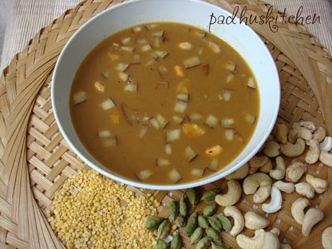 Parupu payasam with coconut milk moong dal payasam pasi parupu pasi paruppu payasam with coconut milk forumfinder Choice Image