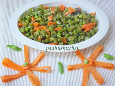Carrot Beans curry