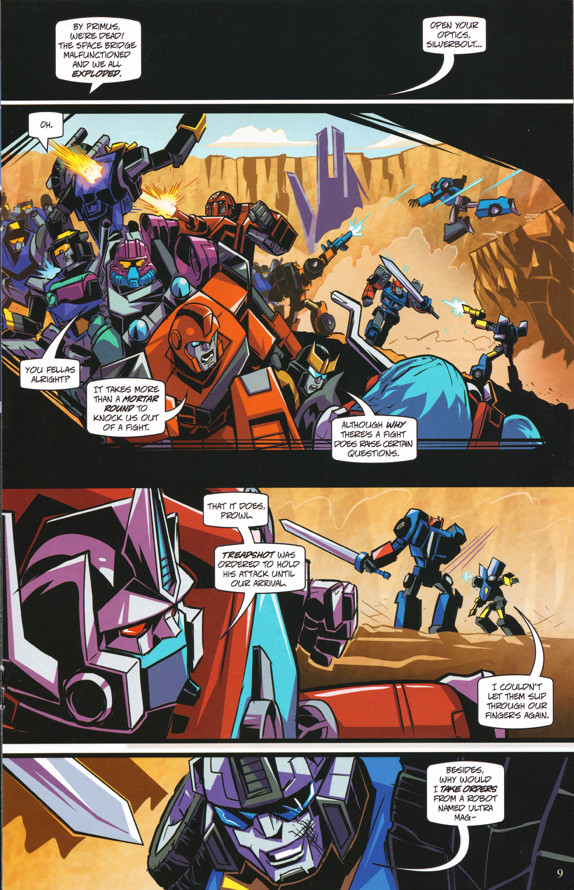 Read online Transformers: Collectors' Club comic -  Issue #62 - 9