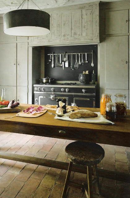 Linenandlavender Net La Cornue Kitchen