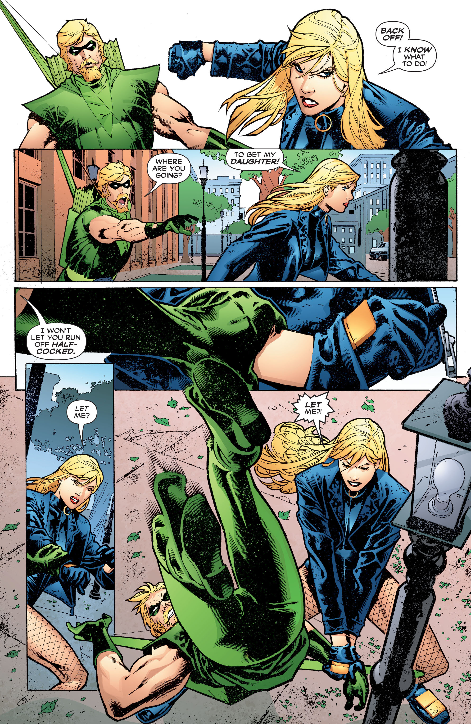 Read online Black Canary (2007) comic -  Issue #3 - 5