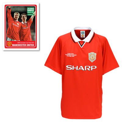 best sneakers e1091 7e04f New Kits on The Blog: Manchester United Retro Champions ...
