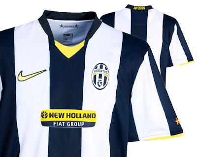New Kits on The Blog: Juventus Home Shirt 2008/09