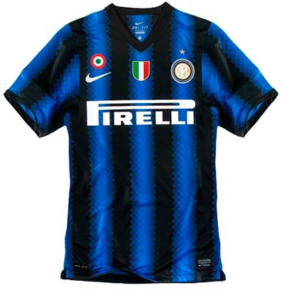 new style dcc5d 1ea42 New Kits on The Blog: Inter Milan Home Shirt 2010/11