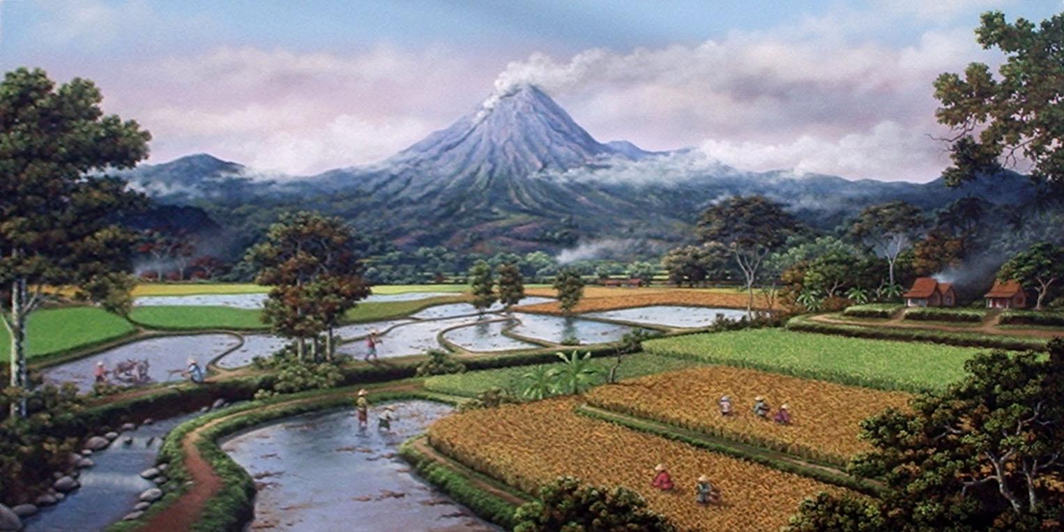 Landscapes: pemandangan alam