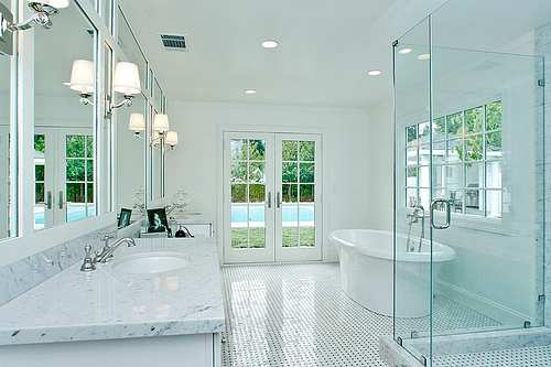 Modern Bathroom lighting with cool and cozy designs - Furniture ...