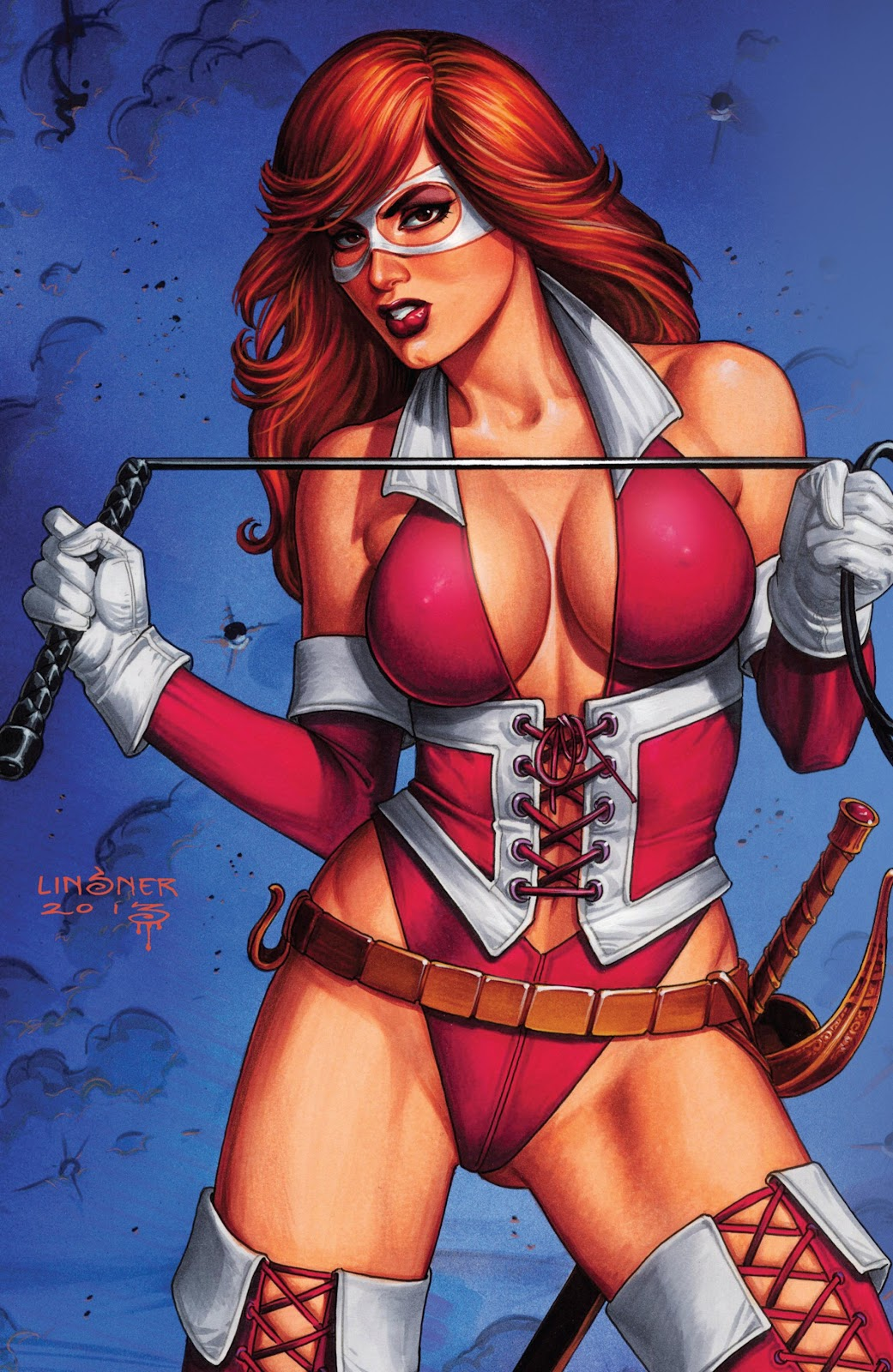 Read online Vampirella Strikes comic -  Issue #6 - 35