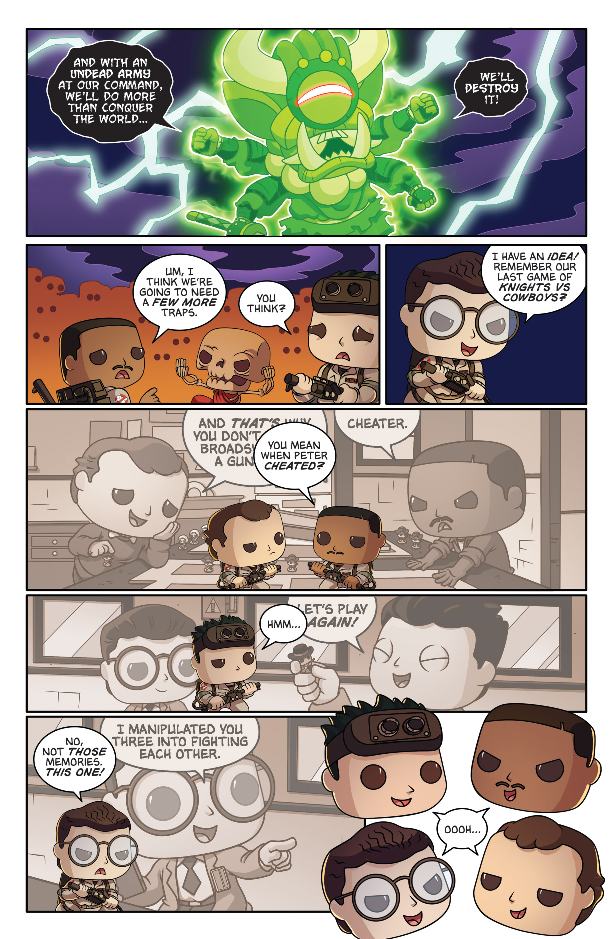 Read online Ghostbusters Funko Universe comic -  Issue # Full - 23